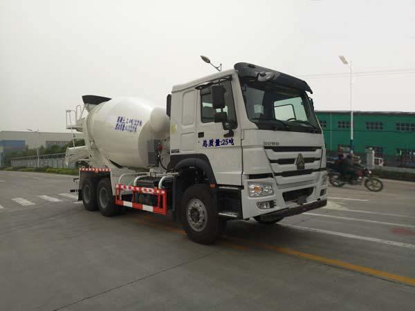 重汽华威 驰乐 340马力 6×4 混凝土搅拌运输车(SGZ5250GJBZZ5W)