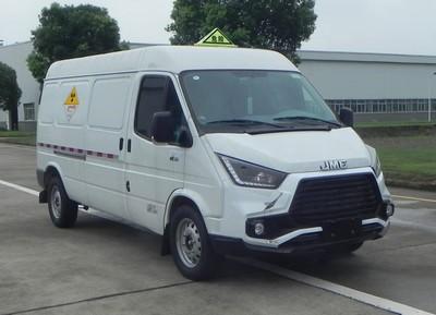 江铃汽车 骐铃 116马力 4x2 放射性物品厢式运输车(JX5047XFSMK6)