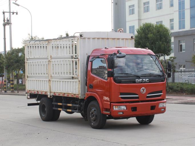 东风股份 福瑞卡 130马力 仓栅式 单排 载货车 EQ5041CCY8GDFAC
