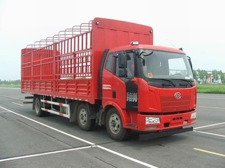 一汽解放 解放J6L 重卡 240马力 6×2 仓栅式 排半 载货车(CA5250CCYP62K1L8T3E5)