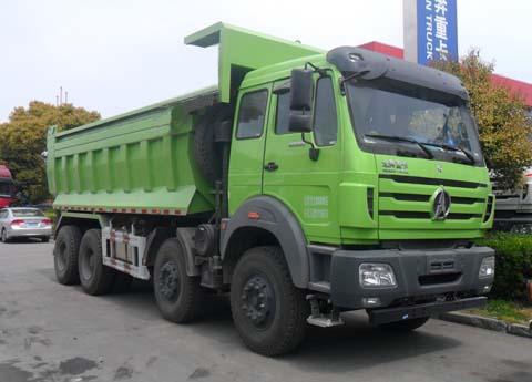 北奔重汽 北奔NG80 重卡 375马力 8×4 自卸车(ND3310DD5J6Z03)