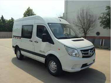 福田汽车 图雅诺E 110马力 厢式运输车(BJ5048XXY-V5)