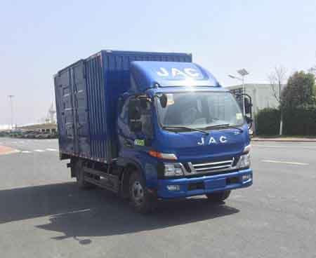 江淮汽车 骏铃 150马力 厢式 单排 载货车(HFC5043XXYB31K1C7S)