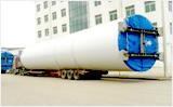 梁山大宇 17.5米 凹式、主梁抽拉6米 大件运输车