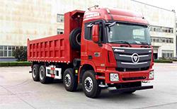 福田欧曼GTL9系 8×4 自卸车
