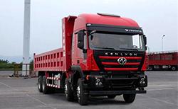 红岩杰狮 390马力 8×4 自卸车