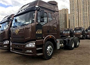 解放 J6P重卡 390马力 6×4 牵引车(CA4250P66K24T1A1E4)
