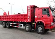 中国重汽 HOWO重卡 375马力 8×4 自卸车(ZZ3317N4667D1)