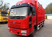 解放J6L 中卡 180马力 4X2 仓栅式 排半 载货车(CA5160CCYP62K1L3A2E4)