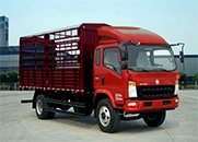 HOWO 统帅 中卡 154马力 4×2 仓栅式 排半 载货车(ZZ5127CCYG421CD1)