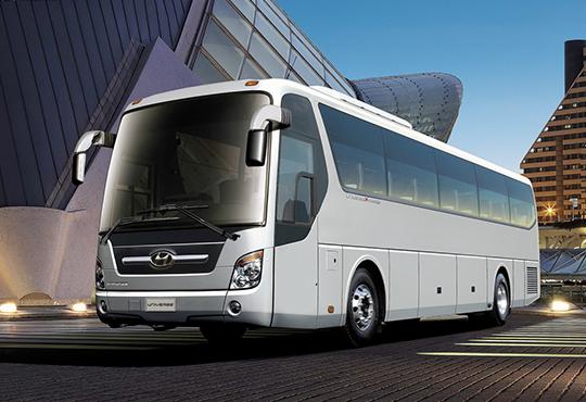 现代Hyundai 客车系列图片