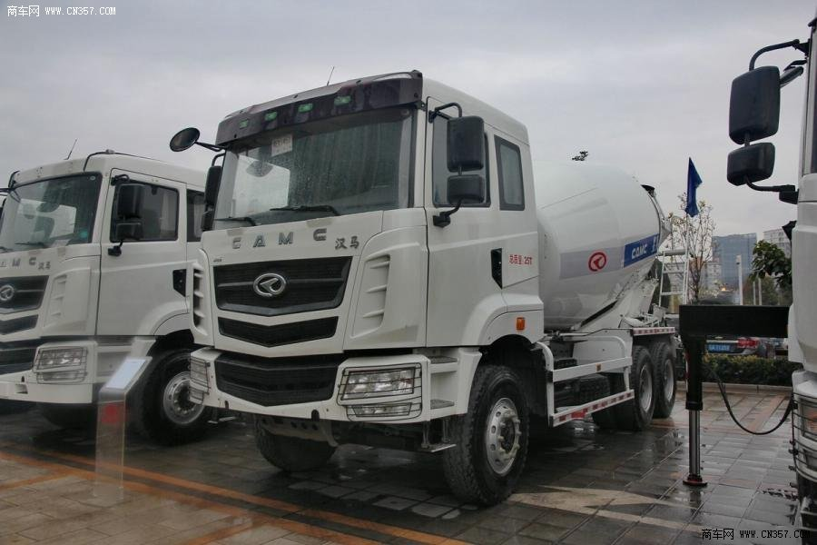 华菱汉马 6×4 混凝土搅拌运输车(安徽星马牌)(AH5259GJB3L4A)