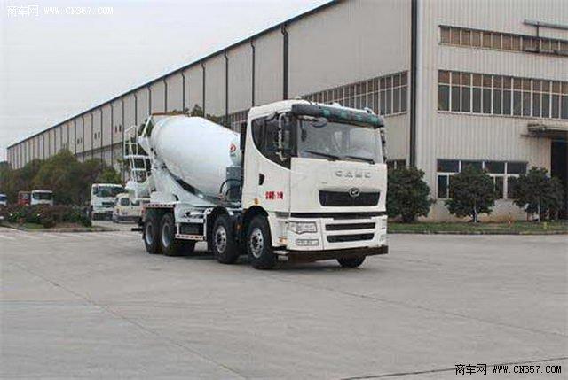 华菱汽车 星凯马 380马力 8×4 混凝土搅拌车(安徽星马牌)(AH5319GJB1L4A)