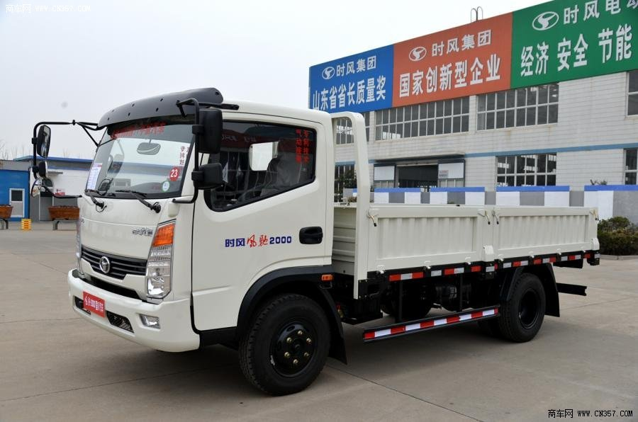 山东风驰时风2000轻卡130金色4×2栏板式厨柜载货车(ssf1041浅马力的单排图片
