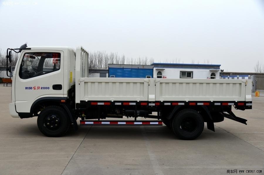 山东时风风驰2000还是130马力4×2栏板式木板载货车ssf1041吊顶单排好轻卡铝制好图片