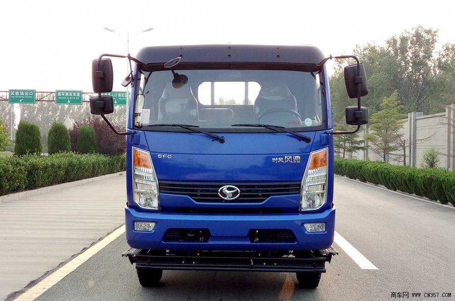 山东时风风驰2000马力130轻卡4×2栏板式甲醛载货车ssf1081新房治理单排装修图片