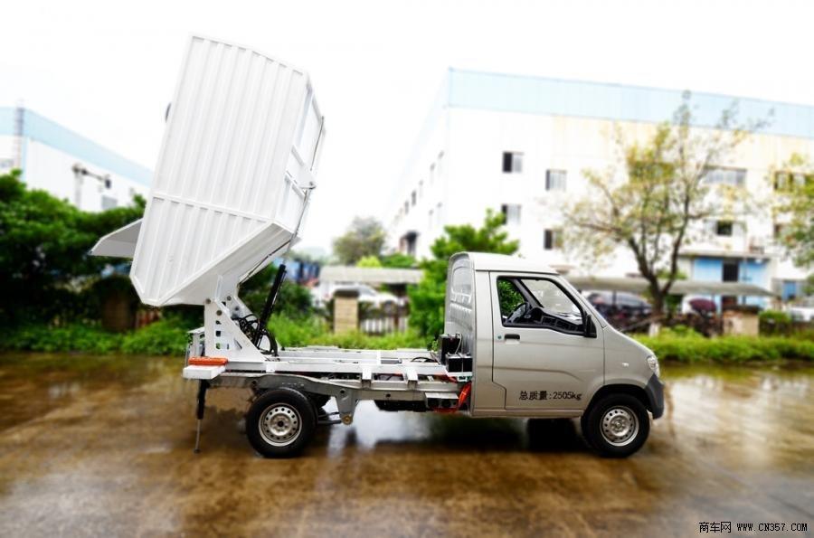 延龙汽车 延龙 68马力 4×2 自卸式垃圾车(LZL5030ZZZBEV)