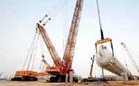 世界最大能级徐工4000吨履带起重机成功启用