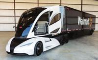 外观酷炫太空舱内饰的沃尔玛WAVE概念卡车介绍