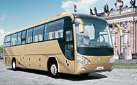 中国宇通客车公司为古巴客户提供大巴车