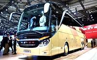 全景天窗的巴士 豪华巴士品牌Setra 500 德国试驾评测
