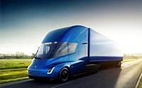 1084马力的特斯拉电动卡车, 标载36吨时续航里程805公里