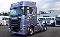 国产卡车和进口卡车有多大差距? 看看这台斯堪尼亚你心里就有数了