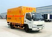 程力威 108马力 4×2 爆破器材运输车(JX5064XQYXG2)