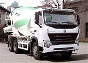 HOWO 375马力 6×4 混凝土搅拌运输车(ZZ5257GJBN4047P1)