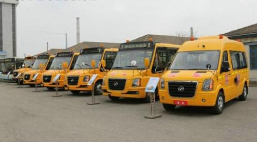 黄海全系列专用校车 黄海校车将与北斗导航服务终端对接