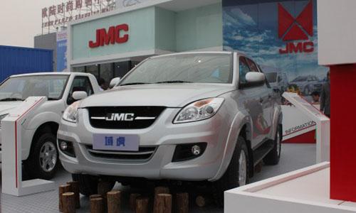 海外市场 江铃汽车开发右盘型皮卡高清图片