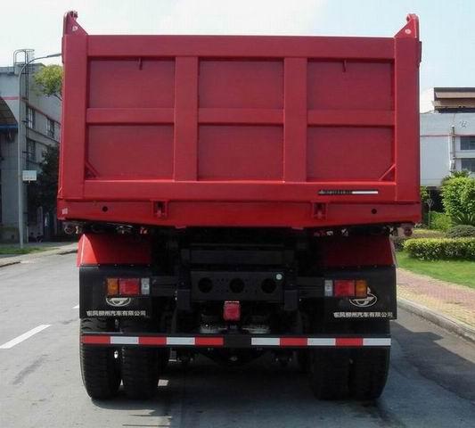 选装高顶驾驶室。准拖挂车总质量8100kg,配WP10.300N、YC6M290-30发动机,准拖挂车总质量9980kg,配WP10.336N、YC6M340-31,WD615.95E,YC6M340-33,WP10.290E32发动机。多个尺寸变化引起的质量参数变化在3%变化范围之内。货厢自卸方式为后卸式.接近角/离去角()还可为:19/24,19/20,25/24.