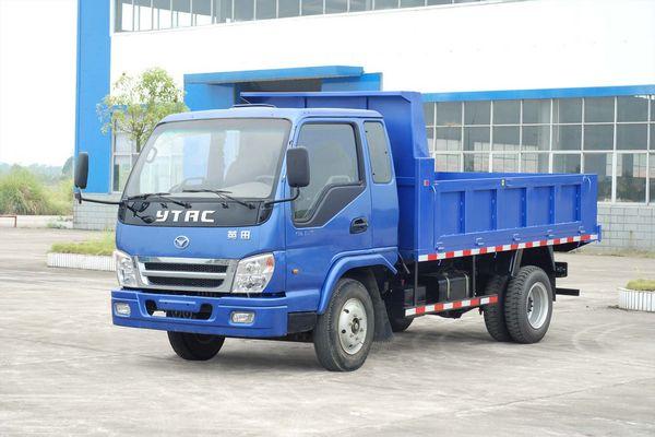 yt5815pd1英田牌自卸低速货车价格 配件 参数-货车将小车压扁至40厘高清图片