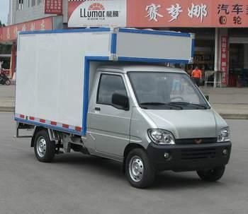 五菱厢式运输车 lqg5027xxynd3q图片