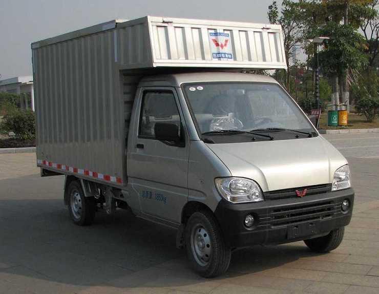 五菱厢式运输车 lqg5027xxynf图片