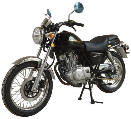望江两轮摩托车 gn250-c