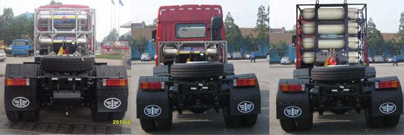 解放平头天然气牵引车 ca4258p2k15t1ne5a80