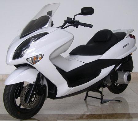 春风两轮摩托车 cf250t-8