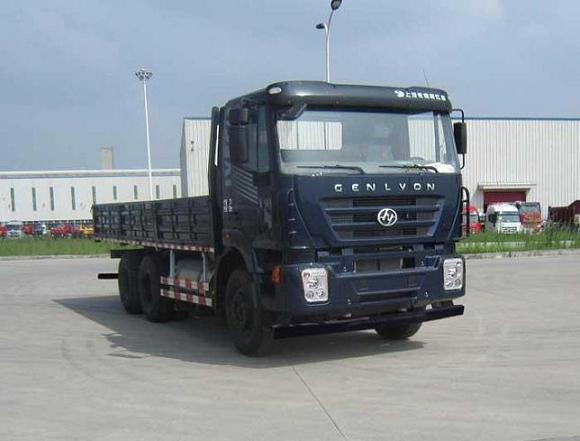 红岩载货汽车 cq1256hpg384t