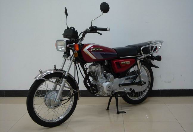 五羊本田两轮摩托车 wy125-r图片