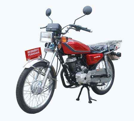 豪剑两轮摩托车 hj125-2a