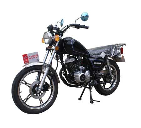 奔腾两轮摩托车 bt125-4b