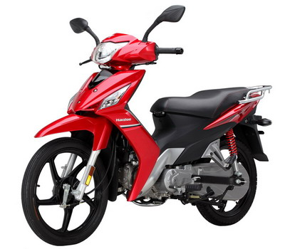 豪爵两轮摩托车 hj110-5