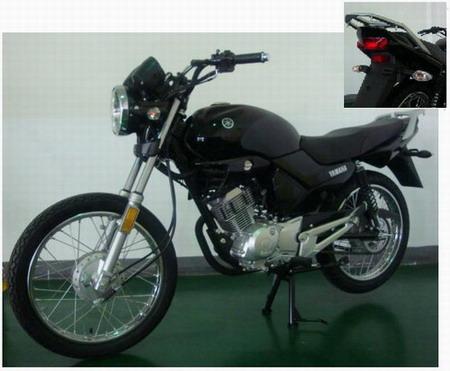 建设雅马哈两轮摩托车 jym125-b