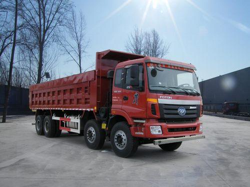 福田 欧曼etx-9系 重卡 375马力 8×4 自卸车 bj3313dmpkc-xc图片