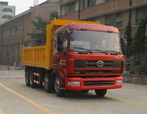 三环十通 御龙 重卡 300马力 8×4 自卸车 STQ3246L8Y6B4
