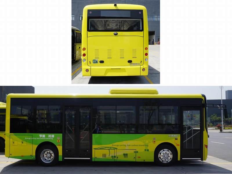 宇通纯电动城市客车 zk6805bevg2