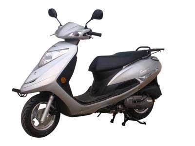轻骑铃木两轮摩托车 qs125t-4b