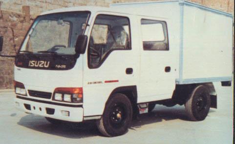 nhr55elwjx 五十铃牌 厢式货车 载货车 中国商用车专业门户高清图片