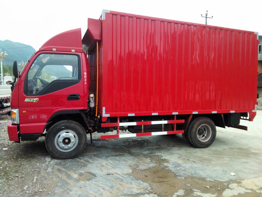急买一辆4.2米厢式轻卡货车 能拉8-10吨的 请知道的朋友推荐下图片